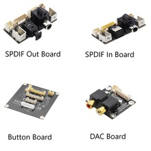 Arylic לוחות התרחבות דיגיטלי ממשק מודול DAC לוח אופטי קלט DAC מפענח לוח 16bit 44.1khz SPDIF ב/החוצה