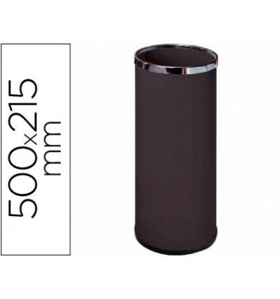 UMBRELLA STAND Metal 301 Black 50x21,5-HOOPS Chrome
