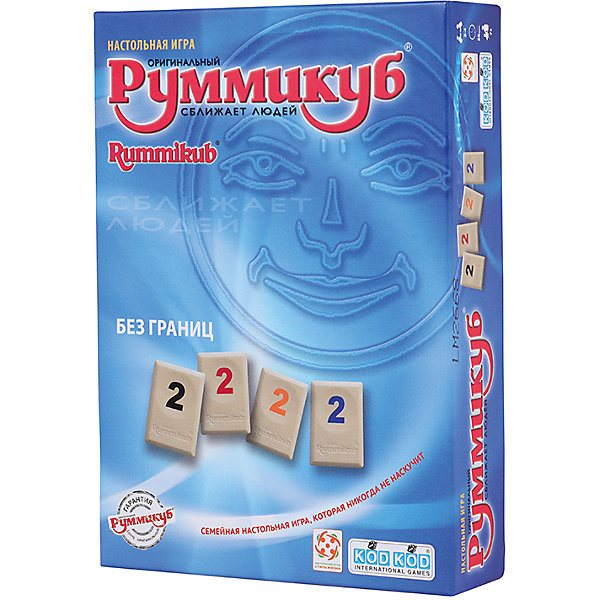Board game life Style Rummikub Without borders mini
