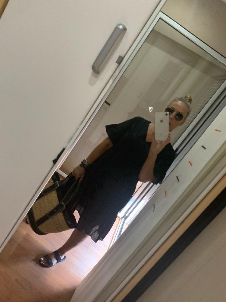 2019 Summer Beachwear Deep V Necek Short Sleeve White Ruffled A-line Mini Dress Women Dress Sexy Dress reviews №1 28207