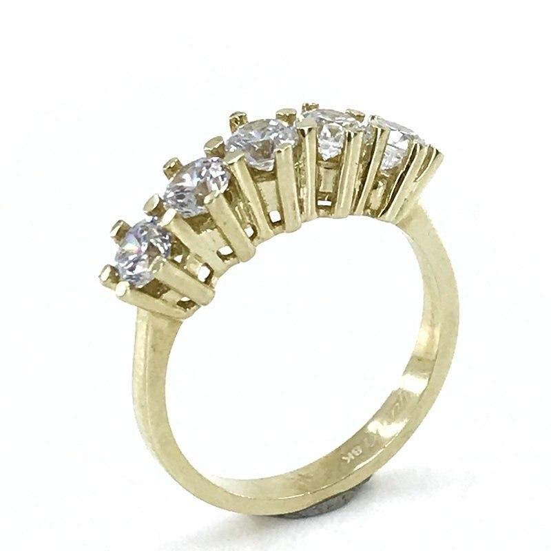 Elegant Polite Dibs 8 Carat Gold Ring