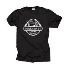 Горячая Распродажа питание от кофейной футболки подарок для