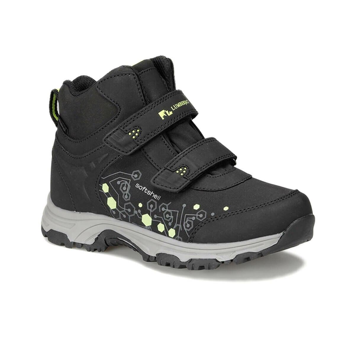 FLO SPAGO HI 9PR Black Male Child Outdoor Boots LUMBERJACK
