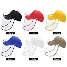 Multi-function Fishing Cap Eye Protection Anti-fog Windproof Hat Anti-saliva Outdoor