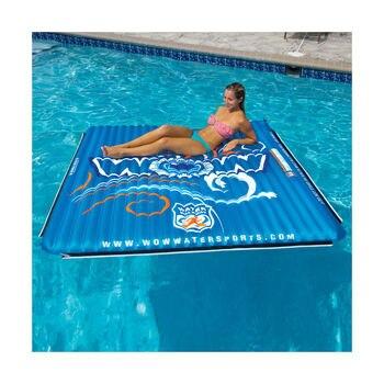 Inflatable mattress, blue, 1,8x1,8 m 142080