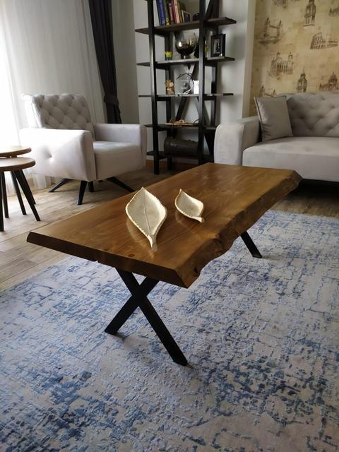 Ağaç orta sehpa Wooden Coffee Table 4