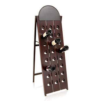 Bottle Rack with Removable Slate Board (24 botellas) 143059