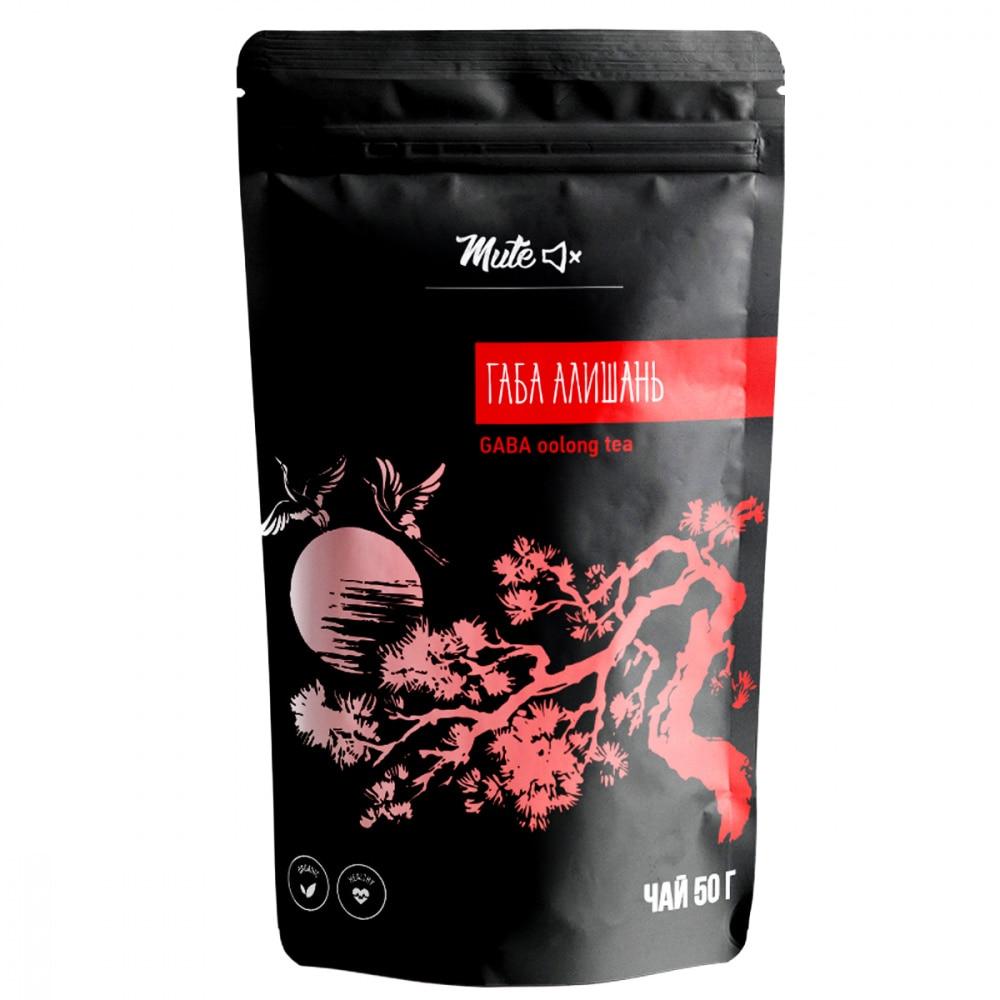 """Чай Mute """"Габа Алишань"""", Gaba Oolong tea, улун листовой, 50 гр"""