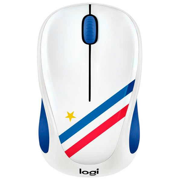 Mouse Logitech Wireless M238 World Cup Edition France P/n: 910-005404