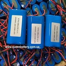 1S2P 3.6v 3.7v 4.2v mobilna nawigacja GPS DVD ręczny terminal POS bateria maszyny z 3mos PCB/PCM( 5A)18650 35e mj1 ga 7000mAh