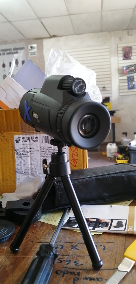-- Poderosa Monocular Telescópio