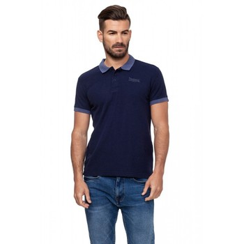 Lonsdale hombre Polo manga corta color Real Navy (19156)