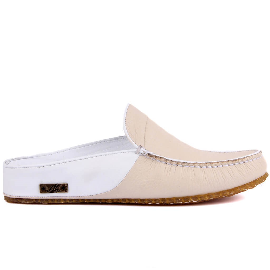Sail-Lakers Genuine Leather Men Slippers Rubber-Soled Outdoor Slipper Flat Slippers Slip On Fashion Luxury Loafers Zapatos De Mujer туфли женские обувь женская