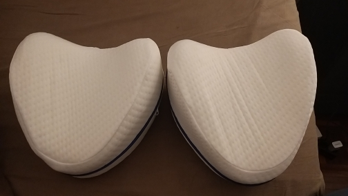 SleepMake SX Orthopedic Leg Pillow for Sleeping Memory photo review