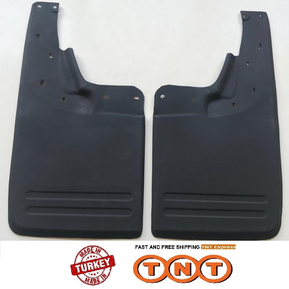 1 Pair Rear Left Right Mud Guard <font><b>MudFlap</b></font> Fender for <font><b>VW</b></font> Amarok 2010-2017 / Free TNT Express Shipping image