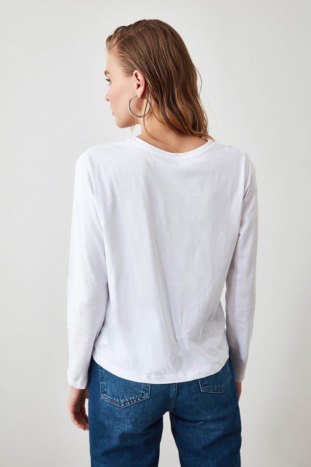 Signos del Zodiaco | Camiseta de Mujer de Manga Larga Blanca/MultiColor CAMISETAS MANGA LARGA CAMISETAS DE MUJER