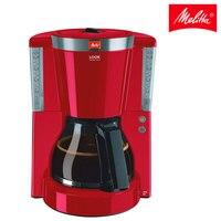 Cafetera goteo melitta look seleção 1011 17  cafetera roja elétrica de filtro  jarra vidrio  programa descalcificación  rojo Cafeteiras     -