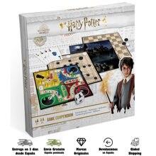 HARRY POTTER – jeu de cartes multijeux, 3 jeux de société, pour femmes et garçons, Cartamundi