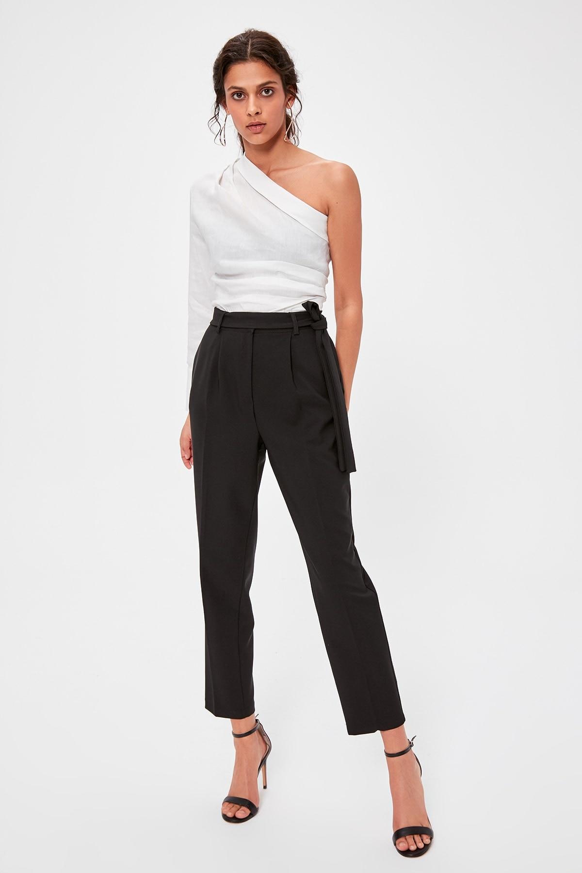 Trendyol Black Carrot Pants TWOAW20PL0245