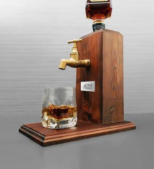 tequila bottle stand