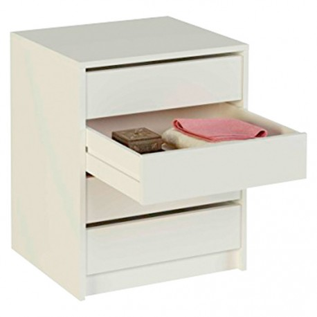 Chest Of Drawers White Or Oak
