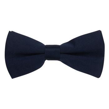 Bow tie for men (blue, microfiber) 56034