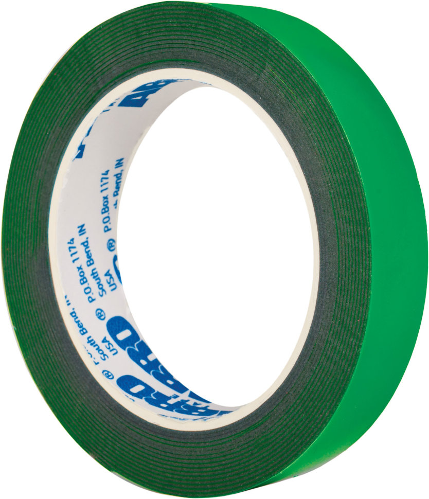 Adhesive tape double-sided Green ...