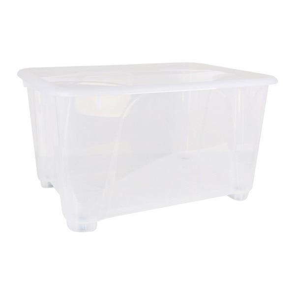 Storage Box with Wheels (80 x 60 x 45 cm)|Foldable Storage Bags| |  - title=