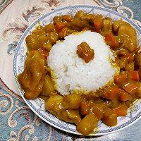 椰汁咖喱鸡的做法图解8
