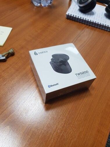 EDIFIER TWS200 TWS Earbuds Qualcomm aptX Wireless earphone Bluetooth 5.0 cVc Dual MIC Noise  cancelling up to 24h playback time|Bluetooth Earphones & Headphones|   - AliExpress