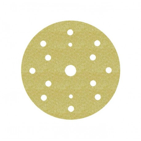 SANDING DISC WOOD ADHESIVE 150 MM 15 HOLES GR120 3M