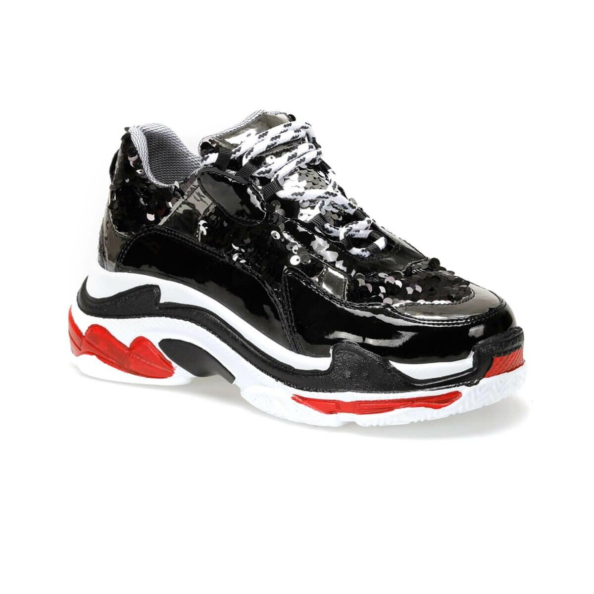 FLO LUPIN85Z PATENT LEATHER Black Women 'S Sneaker Shoes BUTIGO
