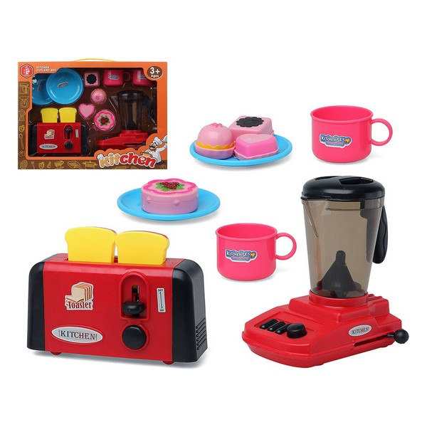 Kitchen Set 118644 Toaster Cup Blender