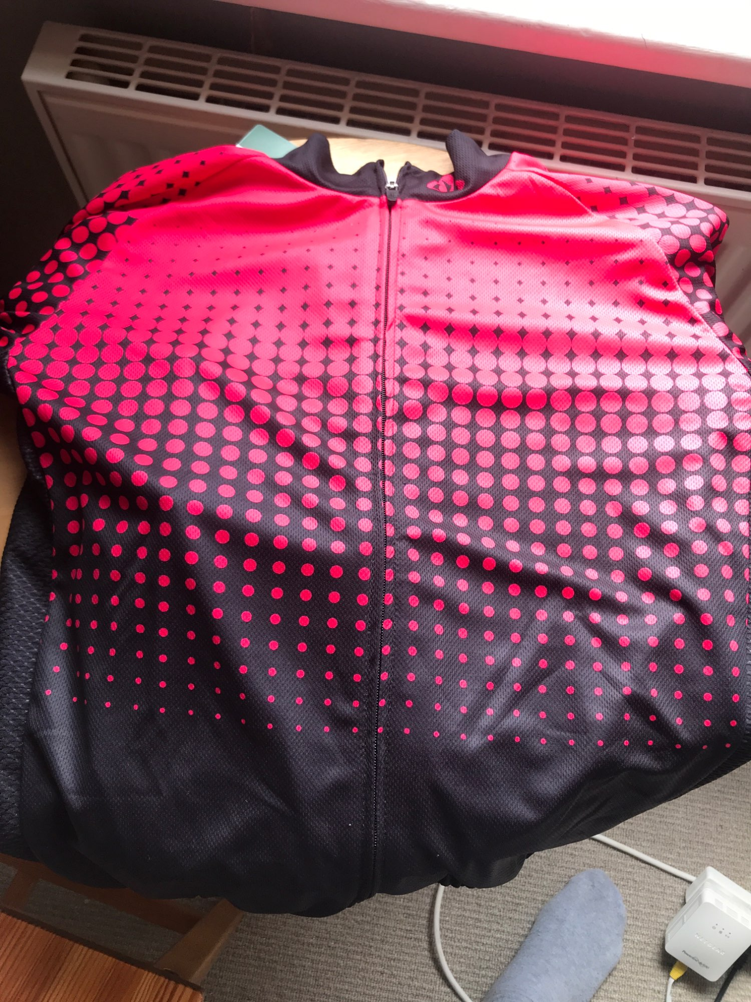 Professional Sports Quick-Drying Men's Cycling Jersey photo review