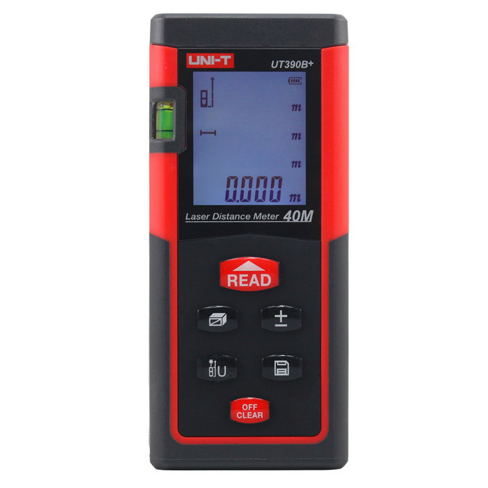 Strength Meter Distance Measurer Laser 40 Meters UNI-T UT-390B +