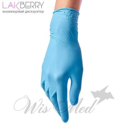 Перчатки нитриловые BENOVY, размер M, голубые (100 шт) неопуд| |   | АлиЭкспресс