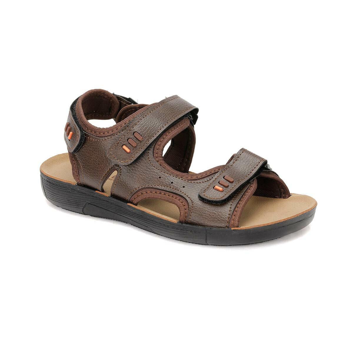 FLO EF-3 Brown Male Sandals Panama Club