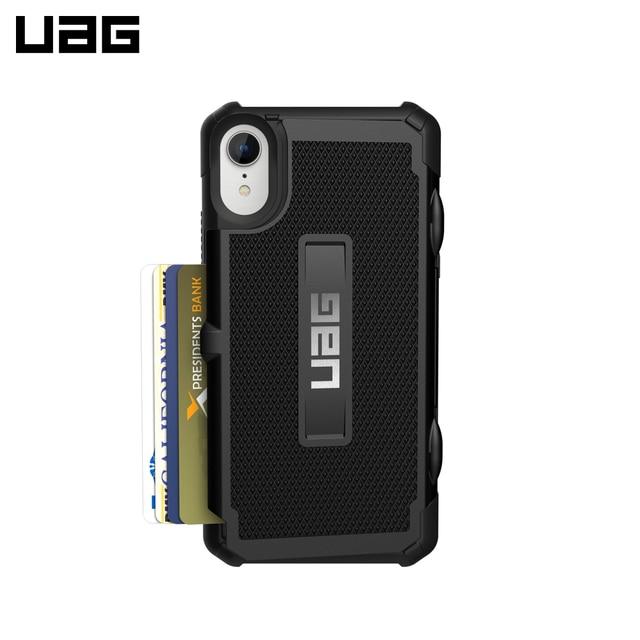 Защитный чехол UAG для iPhone XR серия Trooper цвет черный/111094114040/32/4