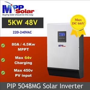 Image 1 - (MG) 5000w 48vdc 230vac Solar inverter max 450V PV eingang MPPT 80A solar ladegerät + batterie ladegerät 60A parallel in der lage