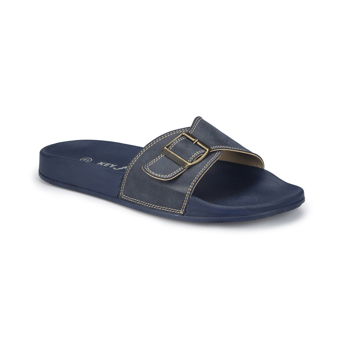 FLO 81.452198.M Navy Blue Male Slippers Polaris