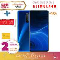 [Offizielle Spanisch Version Garantie] Realme X2, X2 PRO Smartphone telefon, 8 gb ram 128 gb ROM 6,4 ''Snapdragon 730G, 855 Plus