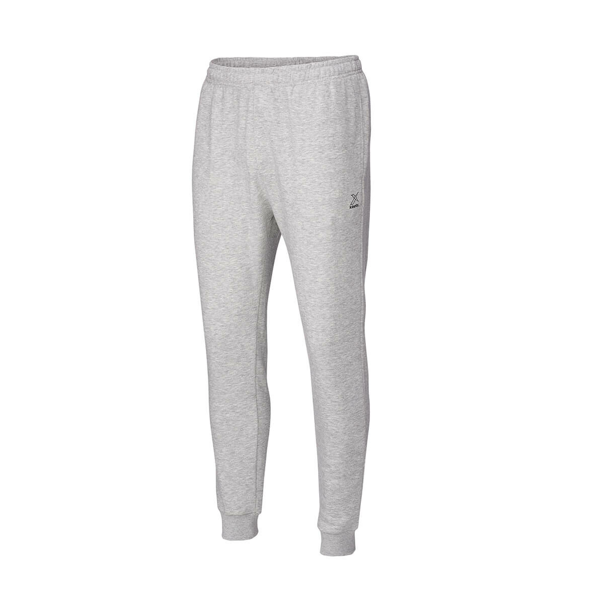 FLO BASIC RIB. SINGLE BOTTOM E Mel Gray Men 'S Tracksuit KINETIX