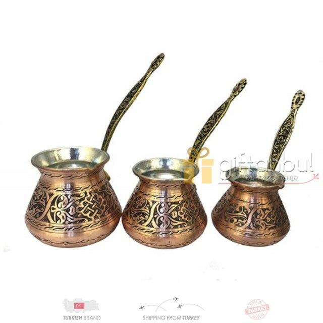 Turkish Traditional Design Copper Ibrik 1