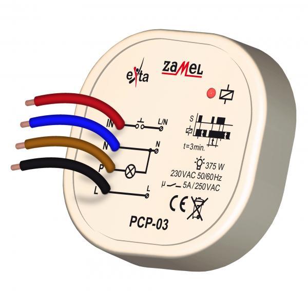 Zamel Реле времени импульсное с задержкой выключения, 230V AC, IP20 PCP 03|Управление умным домом| | АлиЭкспресс