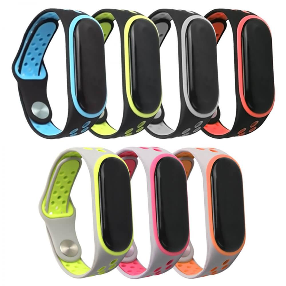 Xiaomi Mi Band 4 Replacement Strap Mi Band 3 Multicolor Smart Activated Plusera Breathable Silicone Air Hole