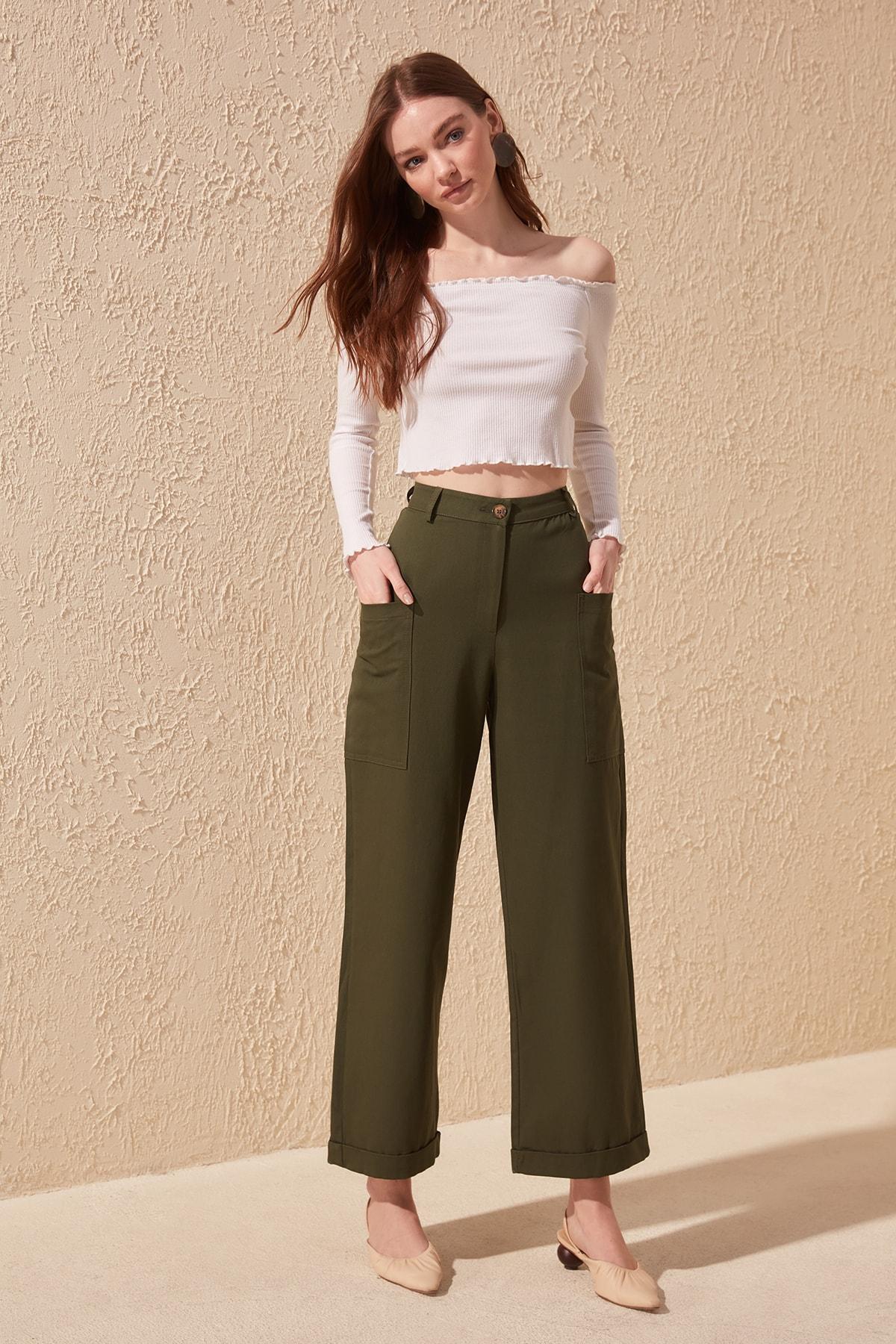 Trendyol Cargo Pocket Pants TWOSS20PL0067