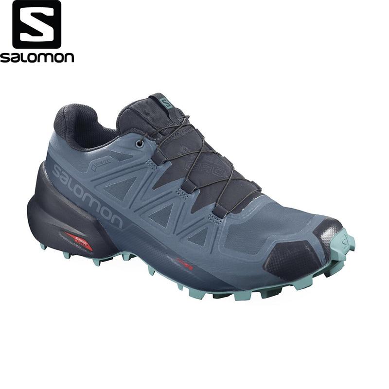 Salomon-Zapatillas Deportivas Para Correr Speedcross 5 Gtx W Para Hombre, Producto Original De Alta Calidad, Nueva Temporada, A La Moda, Con Estilo