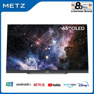 Television 65INCH OLED TV METZ 65S9A62A ANDROID TV 9.0 Google Assistant Large Screen Voice Remote Control 2-Year Warranty