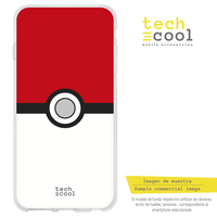 Funnytech®Bq Aquaris M5 L Pokemon Pokeball Vers.1 Siliconen Case