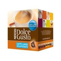 Ev Aletleri'ten Kapsül Kahve Makinesi'de Kahve kapsülleri Nescafé Dolce Gusto 94331 Caffè Lungo Decaffeinato (16 uds)